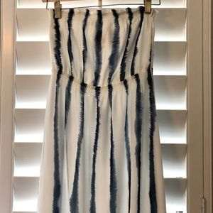 Quiksilver Striped Maxi Dress